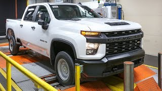 2020 Chevrolet Silverado HD Production in Flint, Michigan