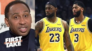 "Stephen A. Smith ""NOT Kawhi, NOT Giannis"" LeBron, Lakers are the best team in the NBA"