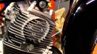 Oakys Garage: 1964 Honda Ca95 Restore #3