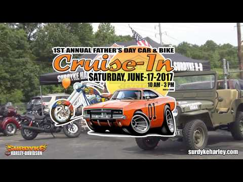 Harley Davidson Father's Day Car & Bike Cruise In 2017