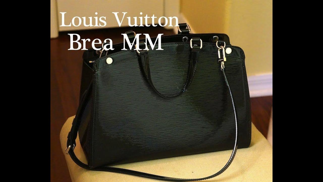 65fad04c5fa Louis Vuitton Brea MM Review - YouTube
