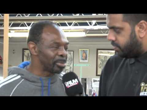 JAMES COOK MBE INTERVIEW FOR iFILM LONDON @ THE PEDRO ABC