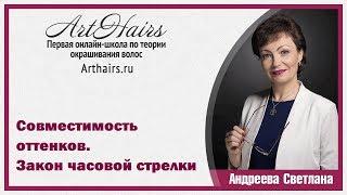 Клуб Совместимость оттенков|ArtHair| Светлана Андреева
