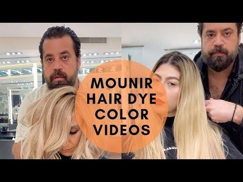 Mounir New Video Of Hair Transformation | Mounir New Hair Coloring Video |  Mounir Nuevo Video