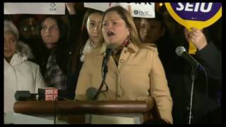 Nyc Council Woman Melissa Mark-Viverito Falsely Claims Trump Lost Popular Vote By 10 MILLION 1/25/17