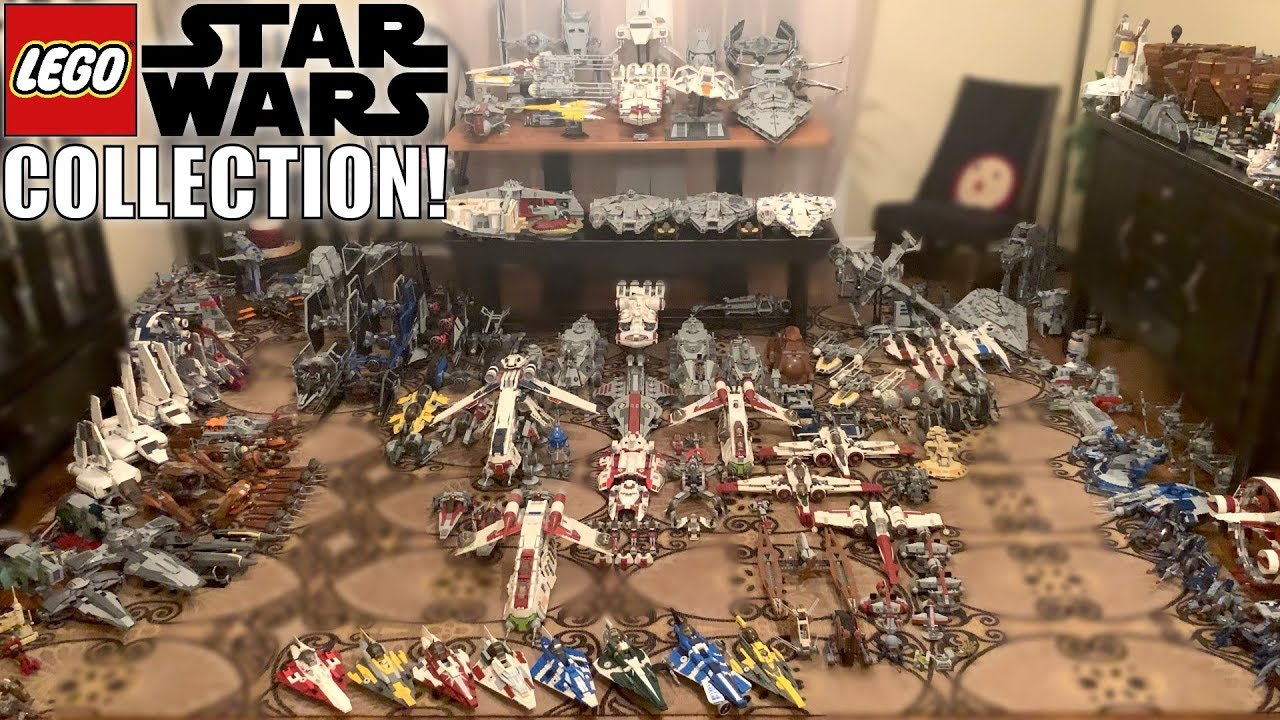 My LEGO Star Wars Collection Video! NEW 2019!