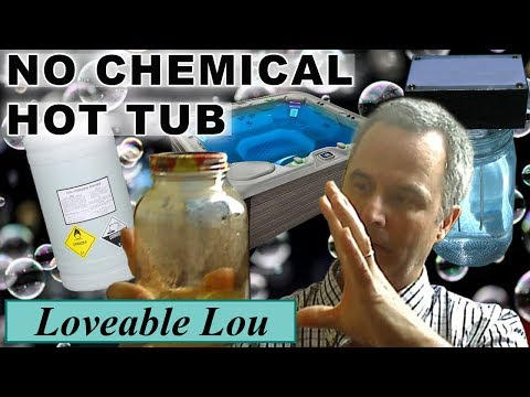 Hot tub with Colloidal Silver or Hydrogen Peroxide