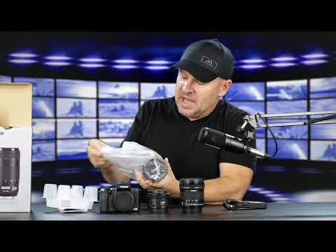 Canon EF 70-300mm IS II USM Lens Unboxing & Initial Impressions on the Canon M50