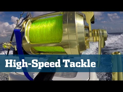 High Speed Wahoo Trolling - Florida Sport Fishing TV Rigging Station