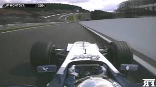 F1 mythic corners onboard | F1 1991-2013 - Eau Rouge-Raidillon