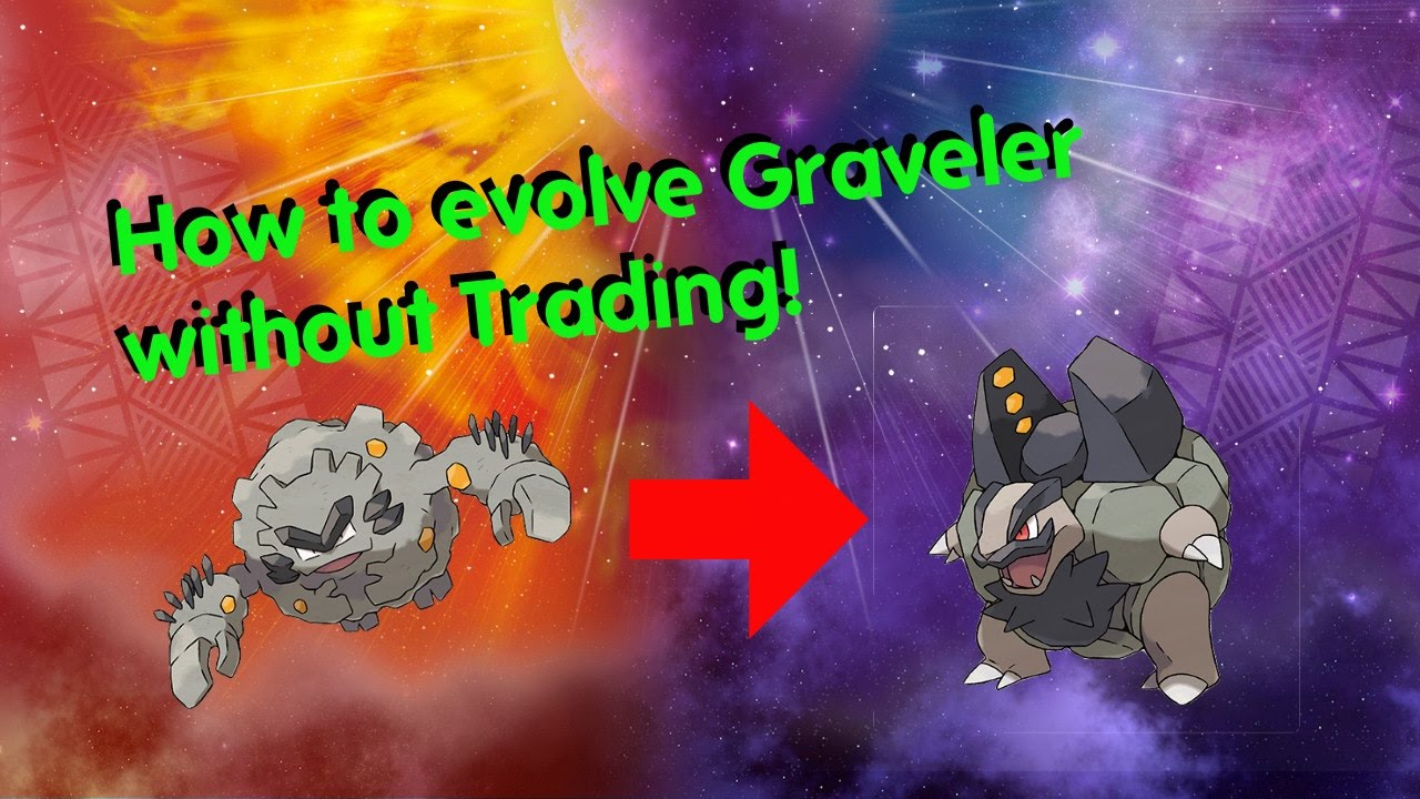How To Evolve Graveler Without Trading In Pokemon Sun Moon Youtube
