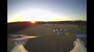 lidi x5fpv 11/21/18 park at sunset
