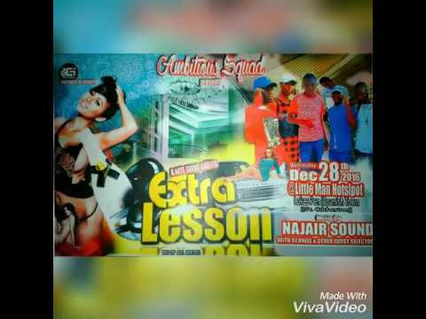Ambitious squad party a ting call extra lasson