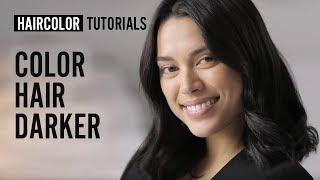 How to color hair darker? | L'Oréal Professionnel tutorials