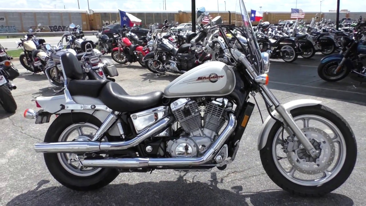 100221 1997 Honda Shadow Spirit Vt1100 Used Motorcycles For Sale