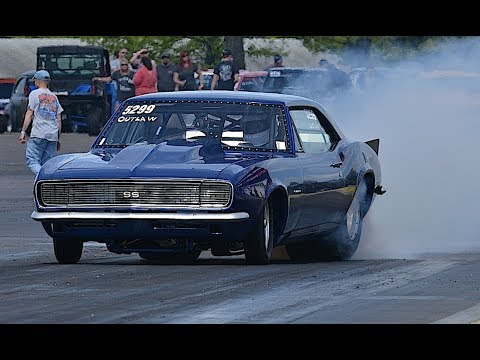 Muscle Car Drag Racing Pleasureland Rv Show Go Youtube