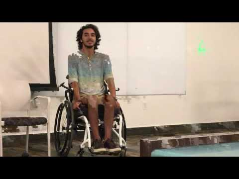 The power of positive thinking during spinal cord injury recovery | Conor Davis | Chapman university