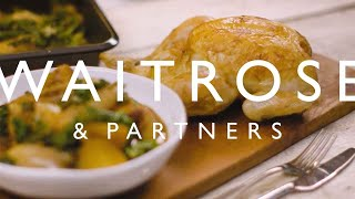 Roast Chicken With Potatoes And Kale | Waitrose