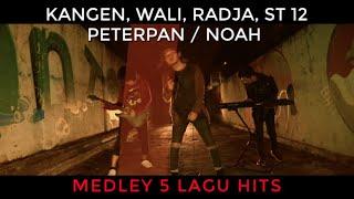 Download Medley 5 Lagu Hits Kangen Band, Wali, Radja, ST 12, Peterpan / Noah (Rock Cover by DAT)