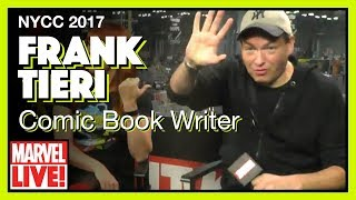 Writer Frank Tieri Stops By the Marvel Skybox - Marvel LIVE! NYCC 2017