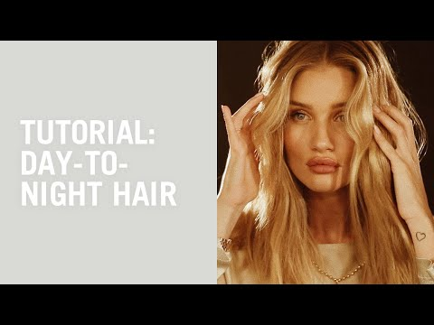 Flat-iron Waves And Evening Ponytail Tutorial With Laura Polko