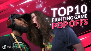 TOP 10 Fighting Game POP OFFS of All Time