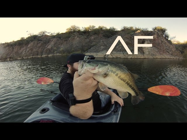 Arizona Kayak Bass, Bullhead Catfish and Carp Fishing (Ascend FS10)
