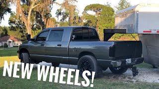 homepage tile video photo for 3rd Gen Dodge Gets NEW WHEELS and Texas Prep Goes Horribly Wrong..
