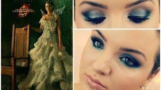 hunger games 2 catching fire katniss everdeen makeup tutorial ft vice 2 palette