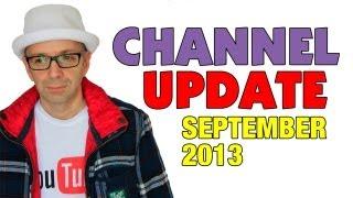 Geekanoids Channel Update September 2013