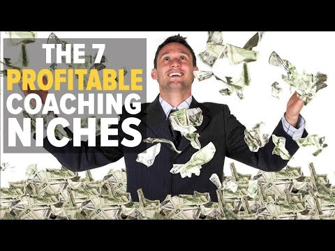 THE 7 PROFITABLE COACHING NICHES