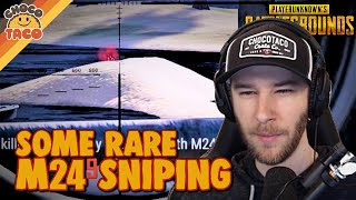 A Rare chocoTaco M24 Sniping Game ft. Boom - PUBG Duos Gameplay