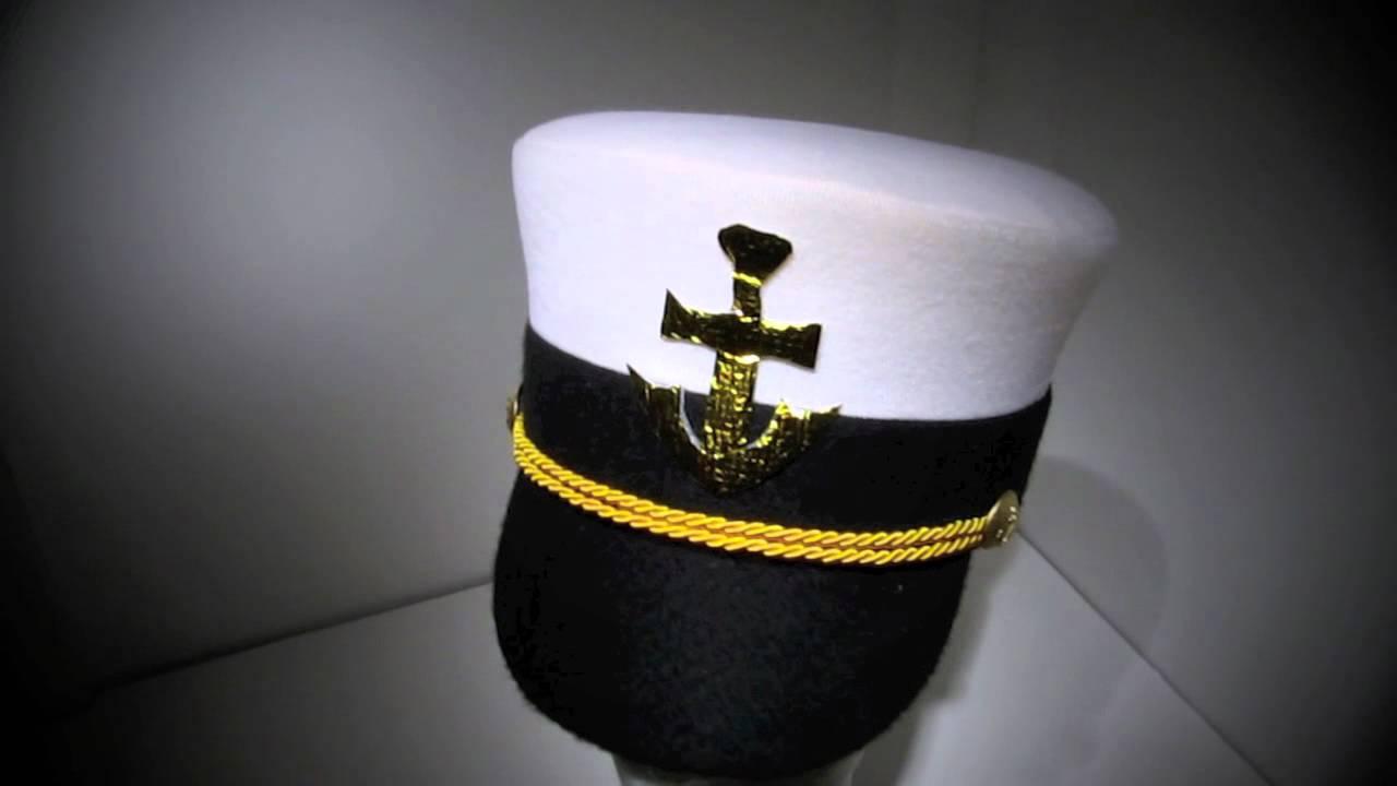 Sombrero Gorra de Capitán - YouTube