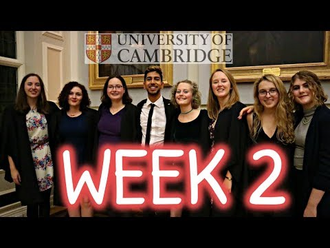 IT IS GETTING CRAZY | Week In The Life Of A Bad B Cambridge University Student | Vlog 2