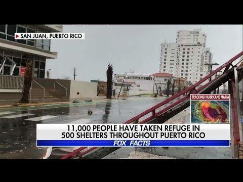 Puerto Rico Rep Describes Riding Out Hurricane Maria