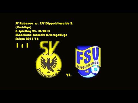 2015-10-25 / 8. Spieltag / Kreisliga A / SV Rabenau-FSV Dippoldiswalde