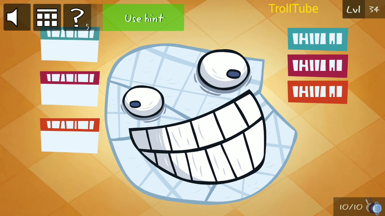 Troll Face Quest Video Games 2 Level 31 32 33 34 35 Solution - 100