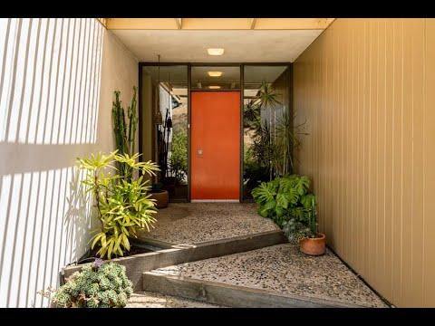Mid Century Modern Home by architect Richard Kearney