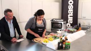 Faster Chef Best Microwave Student Challenge - Salmon And Chilli Mango Salsa