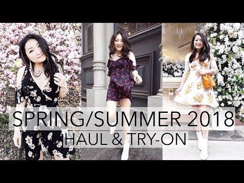 d8243d050150 SPRING/SUMMER TRY-ON HAUL (MOSTLY DRESSES) 2018 | Lulu's, Asos, Revolve,  Astr, Majorelle etc