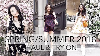 SPRING/SUMMER TRY-ON HAUL (MOSTLY DRESSES) 2018 | Lulu's, Asos, Revolve, Astr, Majorelle etc