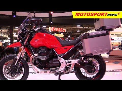 Moto Guzzi V TT ǀ  EICMA Milan