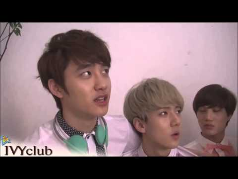 Chanyeol being silly feat Sehun