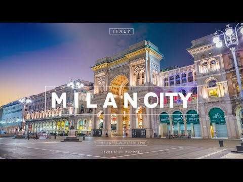 Milano City Hyperlapse Italy Time Lapse Italia