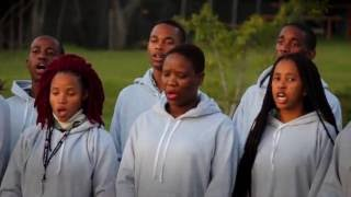 LEV Particpants from Botswana sing Diphiri Makunutu
