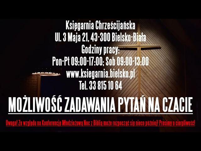 Porozmawiajmy o    Kościele – Noc z Biblią LIVE 24 09 2021