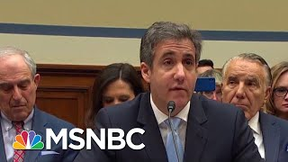 Michael Cohen Bombshell 'Catches' Trump In Mueller Probe Crime   The Beat With Ari Melber   MSNBC