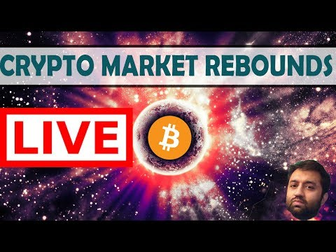 🤑 Live Trading | Cryptocurrency Markets Rebound! | Cryptosomniac.com/taxes 🚀