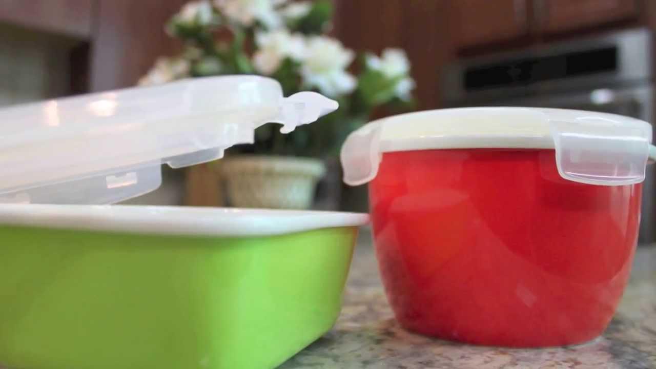 Neoflam CLOC Porcelain Food Storage Bakeware YouTube