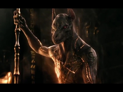 Transformation Scene Hd 2017 Gods Of Egypt Youtube